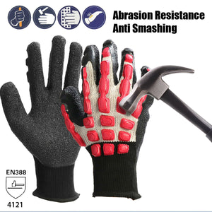 thegsnd 1 Pair Breathable Anti Smashing Safety Gloves Anti Vibration Working Gloves Vibration and Shock Gloves Anti Impact Mechanics  <span class=money>$54.8</span> Coveralls, Impact Gloves, Oil Drilling Equipments, Oil Rig Sunglasses, Onsite Safety Helmat, Rig Safety Equipment, Safety Gloves, Safety GUM Boots, Yard Safety Equipments Safety Equipments <span class=money>$63.8</span>