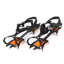 Load image into Gallery viewer, thegsnd 1 Pair Outdoor Anti-Slip 10 Teeth Ice Claw Climbing Shoes Covers Ice Crampons Shoes Ice Gripper Ski Ice Snow Hiking Outdoor Tool  <span class=money>$83.8</span> Hiking Tool, Survival Accessories, Surviving Kit, Trekking Tool Surviving Kit <span class=money>$98.8</span>