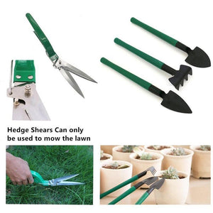 thegsnd 10 Pcs/set Garden Tool Set Shovel Rake Clippers Household Multifunctional Kit Garden Planting Plastic Case Packing  <span class=money>$73.8</span> Agricultural Tools, Farmer Tools, Farming Tools, Gardening Tools Agricultural & Gardening <span class=money>$86.8</span>