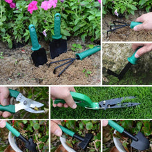Load image into Gallery viewer, thegsnd 10 Pcs/set Garden Tool Set Shovel Rake Clippers Household Multifunctional Kit Garden Planting Plastic Case Packing  <span class=money>$73.8</span> Agricultural Tools, Farmer Tools, Farming Tools, Gardening Tools Agricultural & Gardening <span class=money>$86.8</span>
