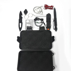 thegsnd 10 in 1 Outdoor survival emergency bag field SOS survival kit box self-help box SOS equipment for Camping Hiking drop shipping  <span class=money>$115.8</span> Equipment Useful In Forest, Hiking Accessories, Survival Accessories, Trekking Accessories Survival Accessories <span class=money>$136.8</span>