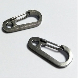 thegsnd 10 pcs EDC Outdoor camping hiking Tool Titanium TC4 spring buckle alloy Carabiner Snap Clip Hook keychain Quickdraw buckle J077  <span class=money>$88.8</span> Hiking Accessories, Hiking Tools, Survival Accessories, Surviving Kit, Trekking kit, Trekking Tools Surviving Kit <span class=money>$104.8</span>