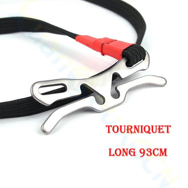thegsnd 100* Military Fast First Aid Medical Tourniquet hunting Outdoor Durable Combat Application Emergency Tool Survival Elastic rope  <span class=money>$220.8</span> Equipment Useful In Forest, Hiking Accessories, Survival Accessories, Trekking Accessories Survival Accessories <span class=money>$259.8</span>