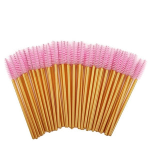 thegsnd 1000pcs/ Pack Mascara Wands Disposable Eye Lash Brushes Applicator for Eyelash Extensions Makeup Tool for Women Gold/Pink  <span class=money>$85.8</span> Bridal Beauty Product, Women Beauty Product, Women Makeup Accessories Women Beauty and Makeup Accessories <span class=money>$100.8</span>