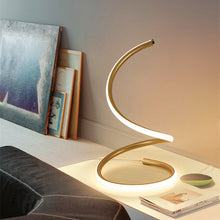 Load image into Gallery viewer, thegsnd 110v 220v Modern Art Decoration Spiral LED Table Lamps for Living Room Bedroom Lighting Bedside Table Lamp Simple Eye Reading  <span class=money>$70.8</span> Electric Table Lamp, Smart Table Lamp, Table Lamp, Table Lamp With Watch Table Lamp <span class=money>$82.8</span>