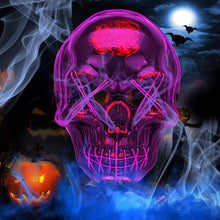 Load image into Gallery viewer, Halloween LED Wire?Scary?Light Up Glowing Mask for Cosplay, Costume Party - thegsnd