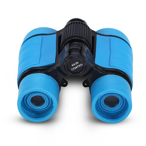 Child Binocular, 3 Colors 4 Times Blue Coated Telescope Binoculars with Lanyard and Storage Bag for Kids Outdoor Hunting Birdwatching Travelling Climbing-Toys and Games-Amazon-thegsnd