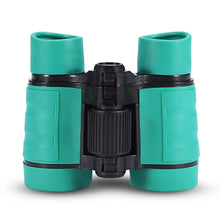 Load image into Gallery viewer, Child Binocular, 3 Colors 4 Times Blue Coated Telescope Binoculars with Lanyard and Storage Bag for Kids Outdoor Hunting Birdwatching Travelling Climbing-Toys and Games-Amazon-Green-thegsnd