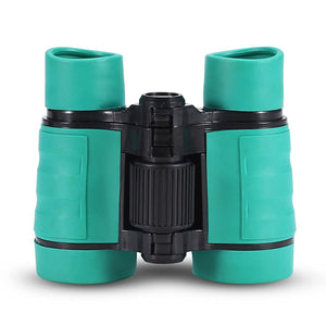 Child Binocular, 3 Colors 4 Times Blue Coated Telescope Binoculars with Lanyard and Storage Bag for Kids Outdoor Hunting Birdwatching Travelling Climbing-Toys and Games-Amazon-Green-thegsnd