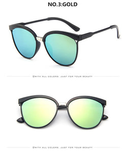 Cat Eye Brand Designer Sunglasses Women Luxury Plastic Sun Glasses Classic Retro Outdoor Eyewear - thegsnd