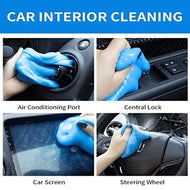 LAZI (Pack of 2) Multipurpose Car AC vent Interior Dust Cleaning Gel Jelly Detailing Putty Cleaner Kit Universal Car Interior, Keyboard, PC, Laptop, Electronic Gadget Cleaning Kit