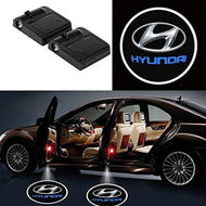 AutoBizarre Wireless Hyundai Logo Shadow Door Light/Ghost Shadow Door Light For All Hyundai Cars (works with all cars)