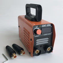 Load image into Gallery viewer, 250A 220V Compact Mini MMA Welder Inverter ARC Welding Machine Stick Welder - thegsnd