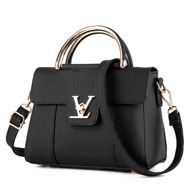 Flap V Women's Luxury Leather Clutch Bag Lady Handbags Messenger Bags-thegsnd
