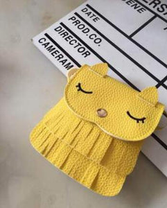 Kids cat purse wallets for children Cute pattern tassel Bags Shoulder Bag Cute monederos para mujer - thegsnd