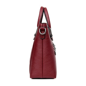 European and American Style Women Totes Leather Ladies Clutch Single Shoulder Bags Crossbody Bags Soft Fashion Handbags - thegsnd