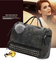 Load image into Gallery viewer, Versatile Leather Large Capacity Shoulder Bag - thegsnd