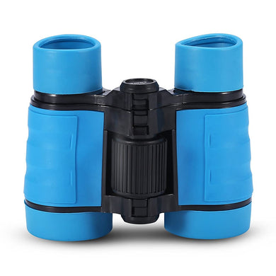 Child Binocular, 3 Colors 4 Times Blue Coated Telescope Binoculars with Lanyard and Storage Bag for Kids Outdoor Hunting Birdwatching Travelling Climbing - thegsnd