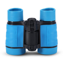 Load image into Gallery viewer, Child Binocular, 3 Colors 4 Times Blue Coated Telescope Binoculars with Lanyard and Storage Bag for Kids Outdoor Hunting Birdwatching Travelling Climbing-Toys and Games-Amazon-Blue-thegsnd