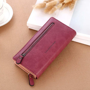 women bags high quality wallet female long wallet fashionable coin purse women purse Carteira feminina - thegsnd