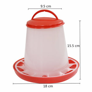 5 sets Chicken Equipment Bird Tools Feed bucket Farm Accessories Chicken diet - thegsnd
