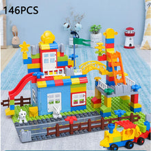 Load image into Gallery viewer, 52-143PCS Marble Race Run Maze Balls Track Building Blocks Jungle Adventure Track Brick Compatible Legoed Duploed Toys For Kid - thegsnd