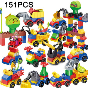52-143PCS Marble Race Run Maze Balls Track Building Blocks Jungle Adventure Track Brick Compatible Legoed Duploed Toys For Kid - thegsnd