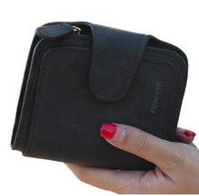 Load image into Gallery viewer, Brand Leather Women Wallet High Quality Design Hasp Solid Color Card Bags Long Female Purse 8 Colors Ladies Clutch Wallet - thegsnd