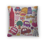 Throw Pillow, Set Of London Symbols-Throw Pillow-Gear New-thegsnd