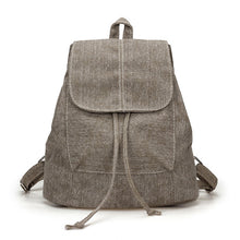 Load image into Gallery viewer, Denim Canvas Women Backpack Drawstring School Bags - thegsnd