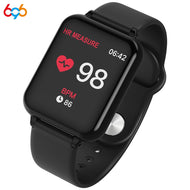 696 new B57 color large screen smart bracelet heart rate blood pressure blood oxygen monitoring multi-sports mode smart watch - thegsnd