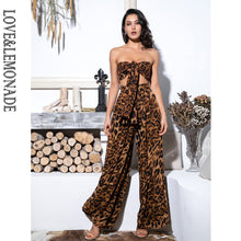 Load image into Gallery viewer, Lemonade Sexy Two-Pieces Leopard Chiffon High Waist Sets - thegsnd