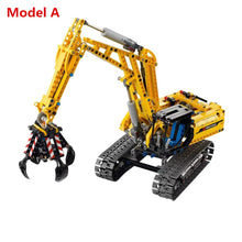 Load image into Gallery viewer, 720pcs 2in1 Compatible L Brand Technic Excavator Model Building Blocks Brick Without Motors Set City Kids Toys for children Gift - thegsnd