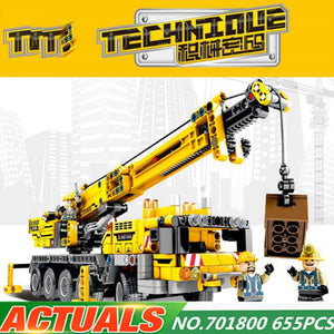 720pcs 2in1 Compatible L Brand Technic Excavator Model Building Blocks Brick Without Motors Set City Kids Toys for children Gift - thegsnd