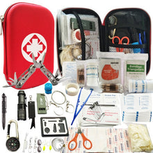 Load image into Gallery viewer, 82 in 1 Camping Outdoor Survival kit Set Travel Multifunction First aid SOS EDC Emergency Supplies Tactical for Wilderness tool - thegsnd