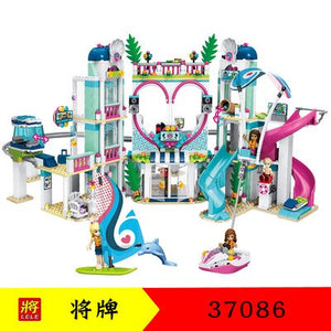 932pcs Princess Heartlake Hospital figures Building blocks  Compatible with legoing Friends 41318 Bricks  toys for children - thegsnd