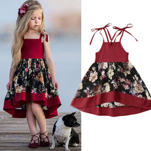 Load image into Gallery viewer, Sweet Toddler Baby Girls Sleeveless Dress Party Princess Floral Sundress Outfit - thegsnd