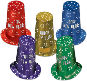 New Year Super Hi-hats Case Pack 10-Party Supplies-DDI-thegsnd