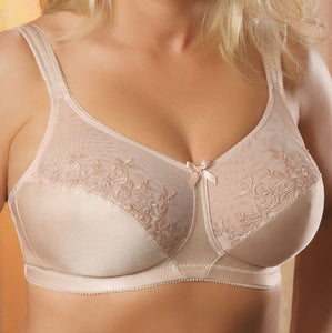 A-2356 Softcup Embroidered Bra - thegsnd