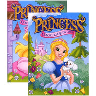 Princess Foil & Embossed Coloring & Activity Book Case Pack 48 - thegsnd