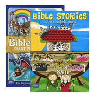 Bible Stories Giant Coloring Book Case Pack 48 - thegsnd
