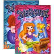 Mermaids Foil & Embossed Coloring & Activity Book Case Pack 48 - thegsnd