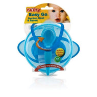 Nuby™ Suction Bowl With Spoon And Lid Case Pack 36 - thegsnd