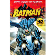 Batman Sticker Story Adventure Books Case Pack 48 - thegsnd
