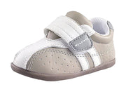 High Quality Baby Shoes Spring Autumn Baby Toddler Shoes Gray 13cm - thegsnd