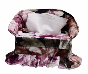 Creative Sofa Shaped Tissue Box Cover Beautiful Holder Cover-purple - thegsnd