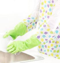 Load image into Gallery viewer, Waterproof Gloves Velvet Warm Cleaning Gloves Dish Washing Gloves -03 - thegsnd