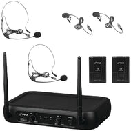 Pyle Pro(r) Pdwm2145 Vhf Fixed-frequency Wireless Microphone System - thegsnd