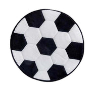 Soft Football Kids Room Carpet Coral Fleece Home Carpet - thegsnd