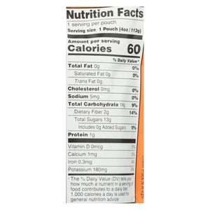 Peter Rabbit Organics Fruit Snacks - Peach And Apple - Case Of 10 - 4 Oz. - thegsnd